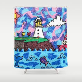 The Cape in Colour! Shower Curtain