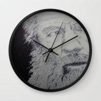 gandalf Wall Clocks featuring Gandalf by Sketchr94