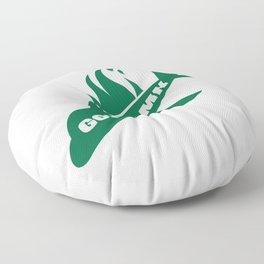 Jets God Dam Funny New York Football Floor Pillow