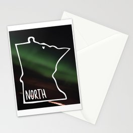 We are North 2 Stationery Cards