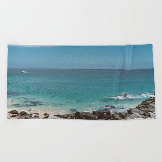 Cabo Boat II Beach Towel