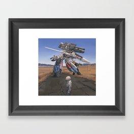 Robotech Framed Art Print
