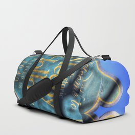 Sleepy Hollow Village Sign Duffle Bag