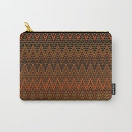 Autumn Chevrons Carry-All Pouch
