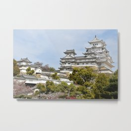 Himeji Castle in Japan Metal Print