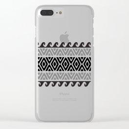 Hawaiian Style Clear iPhone Case