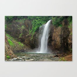Franklin Falls fine art print Canvas Print