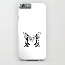 Black Moth iPhone Case