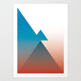 Triangle 1 Art Print