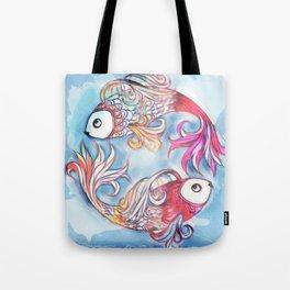 2 Fish Tote Bag