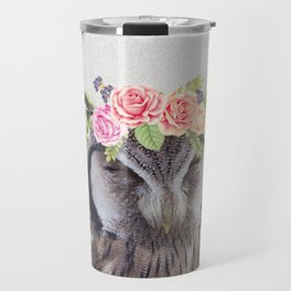 WOO's a pretty owl? Travel Mug