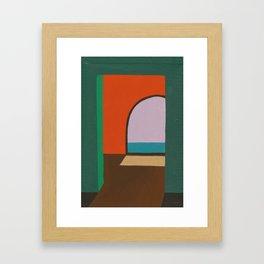 Cobijo Framed Art Print