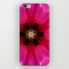 Pink Flower Abstract iPhone & iPod Skin