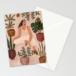 One is good, more is better Stationery Cards