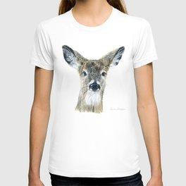 Doe Eyes by Teresa Thompson T-shirt