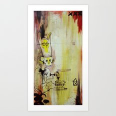 Deathy By Fresh Toast Art Print