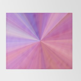 Gravity in Pink and Purple Throw Blanket