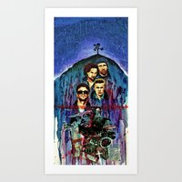 u2 Art Prints featuring U2 by kenmeyerjr