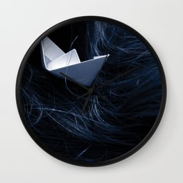 On troubled waters Wall Clock