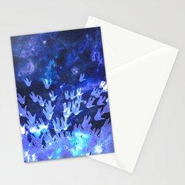 H.E.L.L.O. / blue Stationery Cards