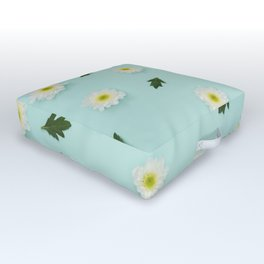 Flowers III Outdoor Floor Cushion