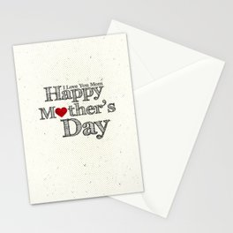 Happy Mother's Day Stationery Cards