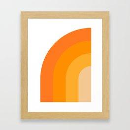 Retro 01 Framed Art Print