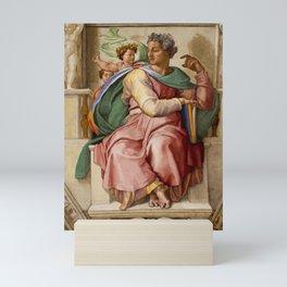"""Michelangelo """"Prophet Isaiah"""" Mini Art Print"""