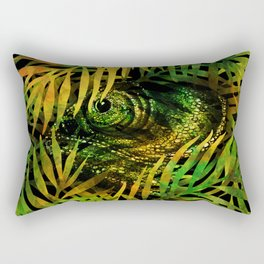 nobody's home /Agat/ Rectangular Pillow