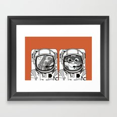 Searching for human empathy Framed Art Print