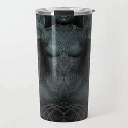 Triptych: Shakti - Black Goddess Travel Mug