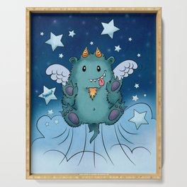 Twinkle Toes the Happy Chaos Monster Serving Tray