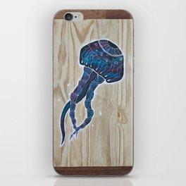 Cosmic Jellyfish iPhone Skin