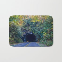 Dream tunnel  Bath Mat