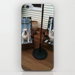 Bulldogs Lounging iPhone Skin