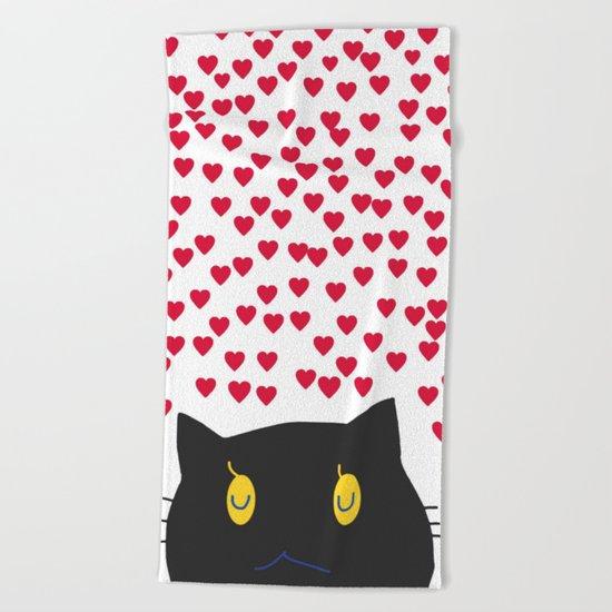 cat-168 Beach Towel