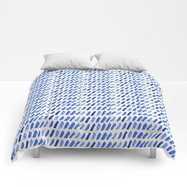 shibori dash Comforters