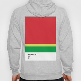 Pantone Fruit - Watermelon Hoody