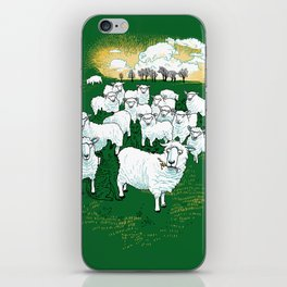 Hide & Sheep iPhone Skin