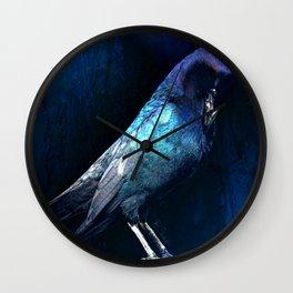 Black Bird Illuminati-Barbara Chichester Wall Clock