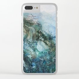 Solitude (Watercolor painting) Clear iPhone Case