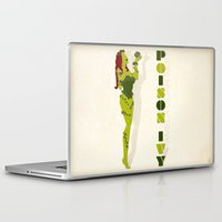 poison ivy Laptop & iPad Skins featuring Poison Ivy by Lily's Factory