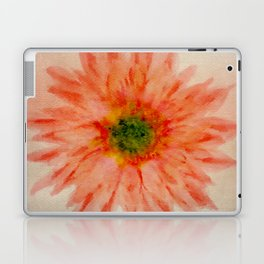 salmon flower Laptop & iPad Skin