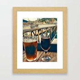 Drinks are on Me Framed Art Print