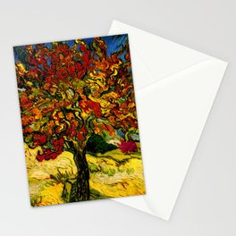 Van Gogh Mulberry Tree Stationery Cards