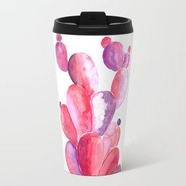 Cactus in Watercolor Travel Mug