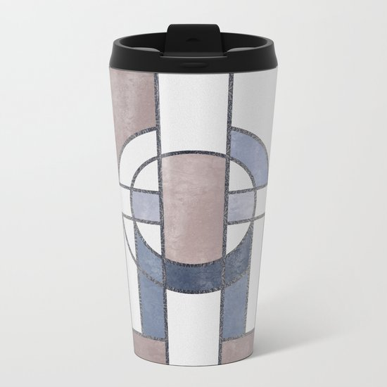 ART DECO G5 Metal Travel Mug