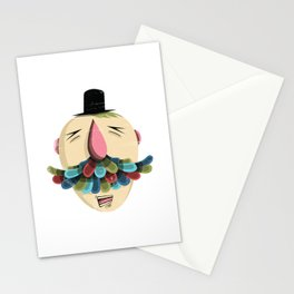 Mustachio Madness Stationery Cards