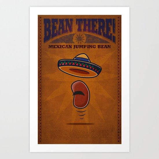 Bean There! Mexico Art Print