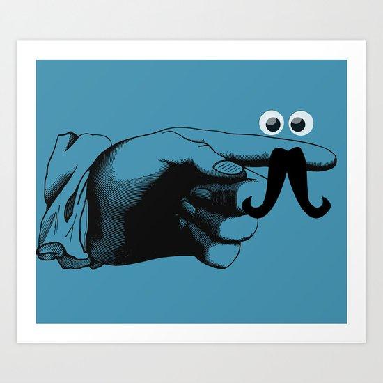 Mr.Finger  Art Print